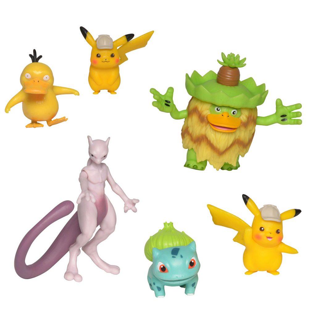Detetive Pikachu Multipack 6 Figuras
